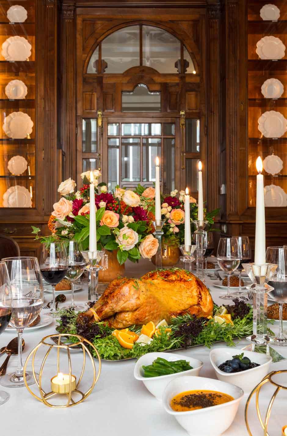 La cena de Acción de Gracias del URSO Hotel & Spa | Tu Gran Viaje