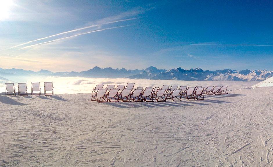 Tumbonas en Seegrube. © Innsbruck Tourismus / Christoph Pertold
