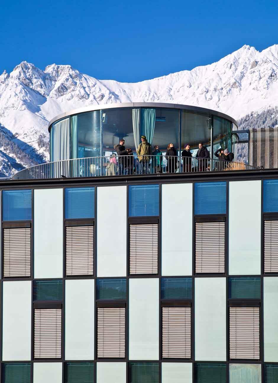 Observatorio de Lichtblick. © Innsbruck Tourismus / Christof Lackner