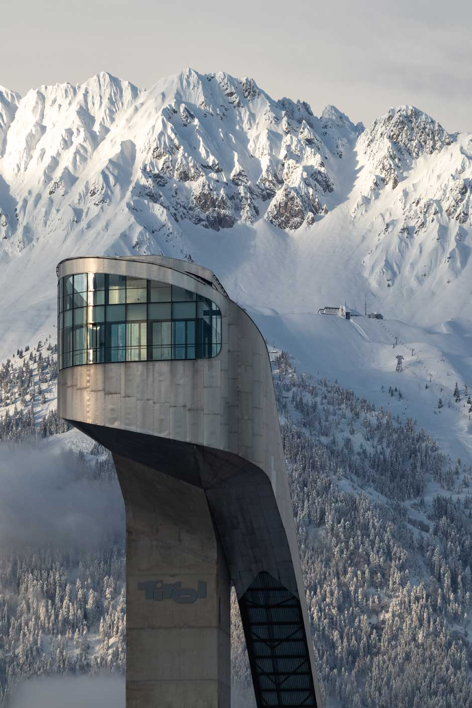 Trampolín de Salto Bergisel. © Innsbruck Tourismus / Tom Bause
