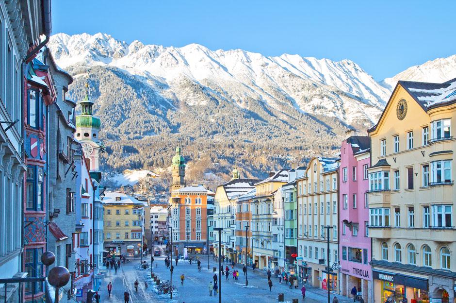 Maria Theresien Strasse. © Innsbruck Tourismus / Christof Lackner