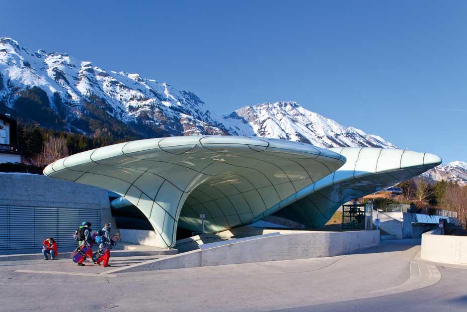 Hungerburghbahn. © Innsbruck Tourismus / Christof Lackner