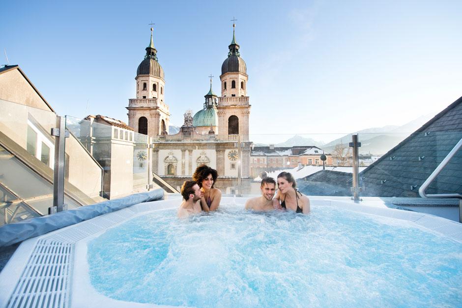 Grauer Hotel, Innsbruck. Foto © Innsbruck Tourismus/Edi Groeger   Información para viajar a Innsbruck Tirol Austria en 2021   Tu Gran Viaje