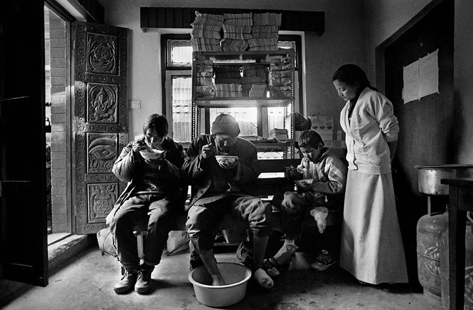 """Exposición """"Tíbet, una cultura amenazada"""" de Ángel López Soto"""