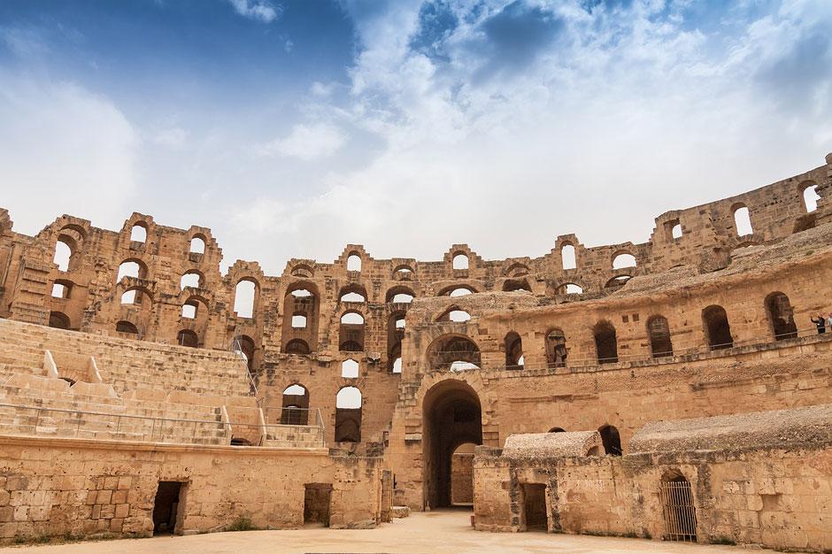 Lugar Patrimonio de la Humanidad, escenario de rodaje para la película 'Gladiator'... así es el anfiteatro de El Djem en Túnez, el más grande de todo África | Tu Gran Viaje