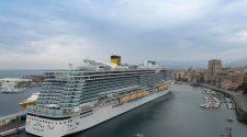 El Costa Smeralda, el primero de un total de cuatro barcos de Costa Cruceros que recorrerán el Mediterráneo durante 2021. Tu Gran Viaje