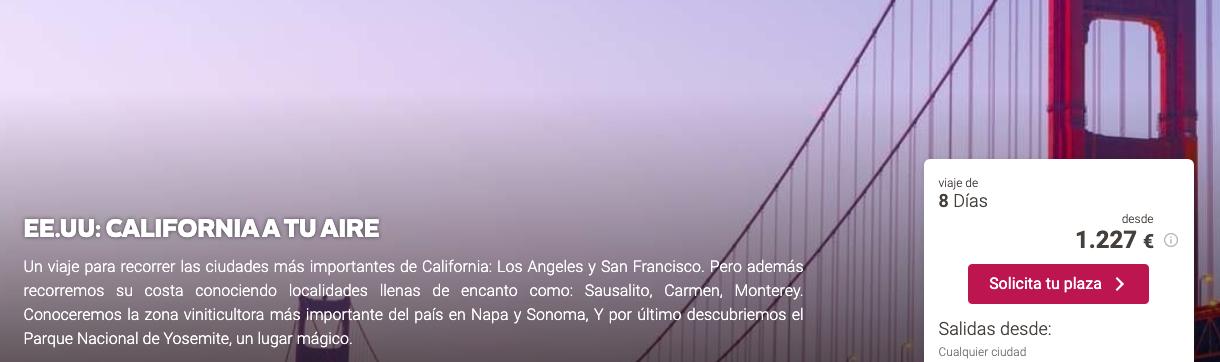 oferta viajar San Francisco California Tu Gran Viaje