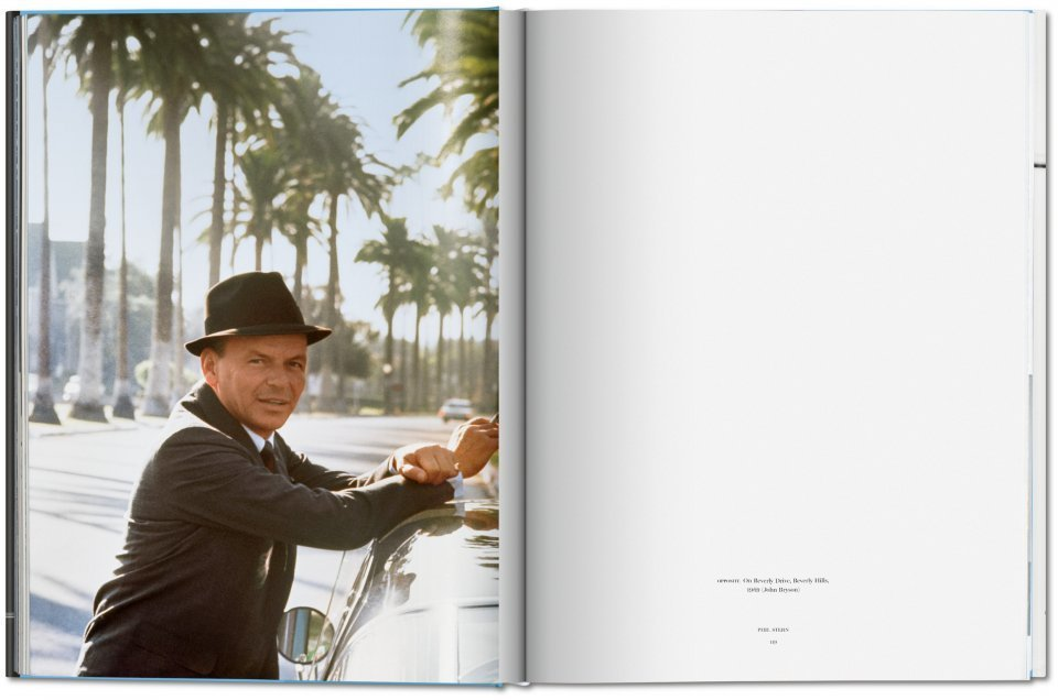 Sinatra has a cold Gay Talese Phil Stern Taschen Ed Tu Gran Viaje