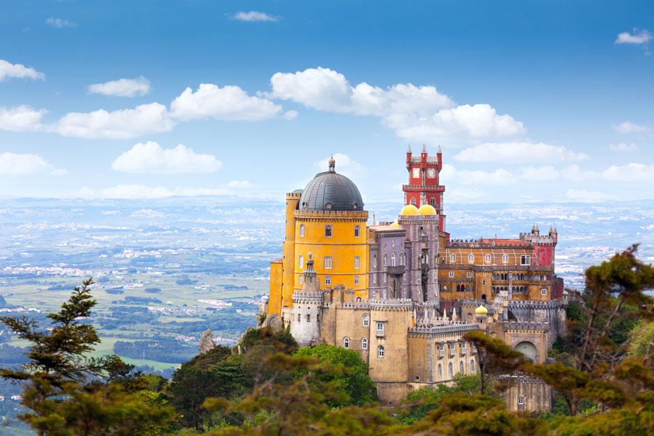Palacio da Pena, Sintra. Imagen © Taiga / Shutterstock Visitar Sintra historia Lisboa   Tu Gran Viaje