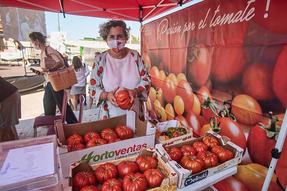 III edición de la Feria Nacional del Tomate Antiguo de Bezana