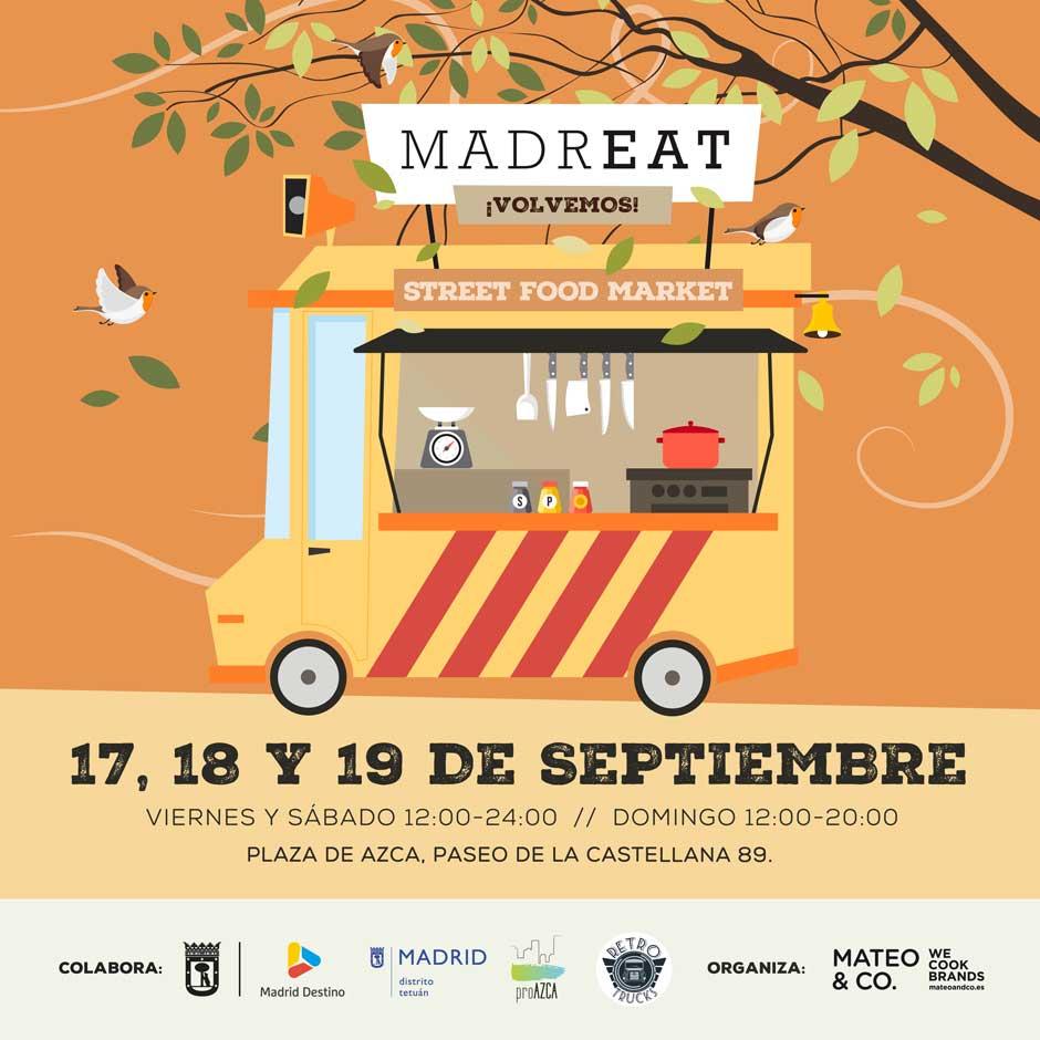 El regreso de MadrEAT, el primer mercado de street food de España   Tu Gran Viaje