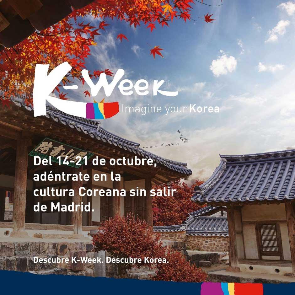 Del 14 al 21 de octubre, el festival K-Week convierte a Madrid en Corea del Sur con numerosas actividades para todos los públicos. Tu Gran Viaje